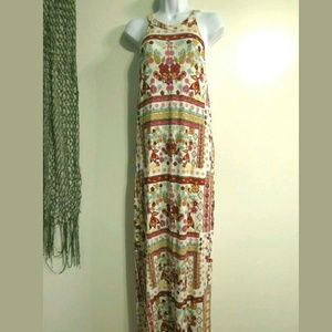 H&M Coachella collection Maxi dress Fits 10 12